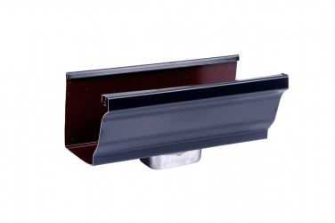 Naissance frontale 60 X 80 aluminium ardoise
