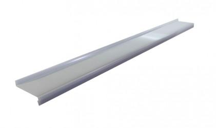 Appuis de fenêtre Aluminium gris métal 1 mm de 2 mètres