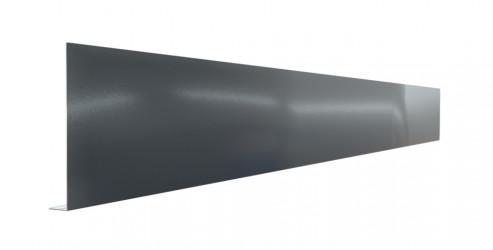 Pliage Aluminium de finition en L gris ardoise - 2M