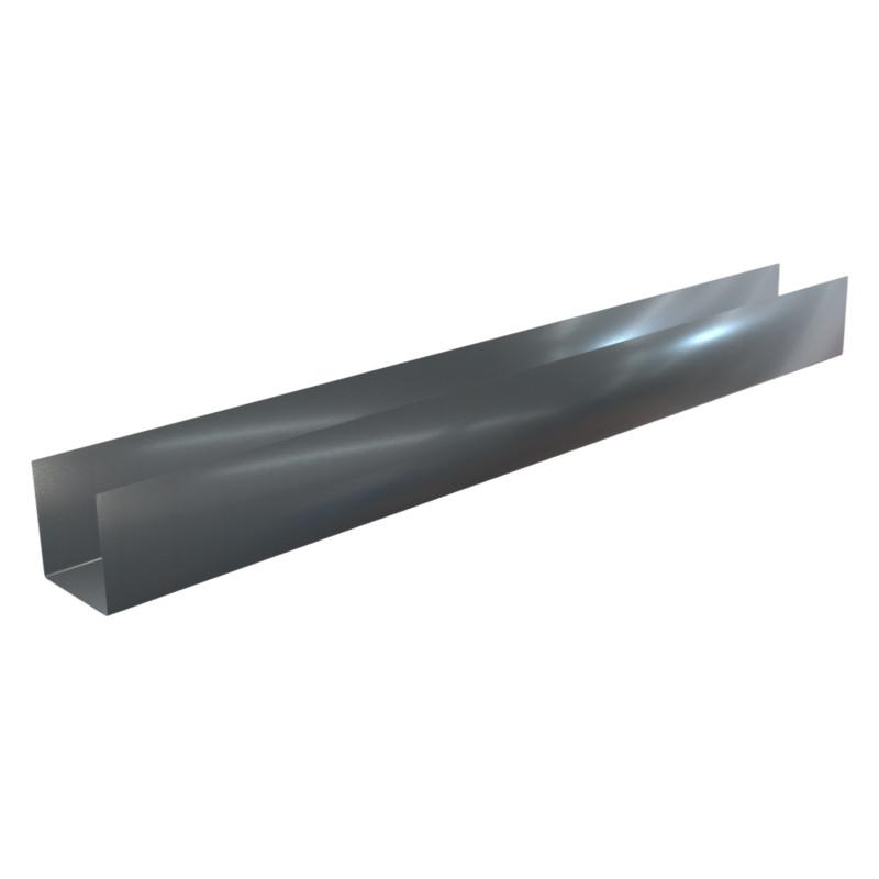 Aluminium riffel Plaque de profil 2/m Alu Bords Angle de protection