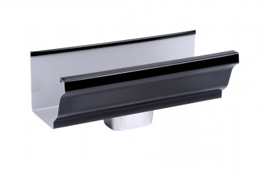 Naissance frontale 60 X 80 aluminium noir