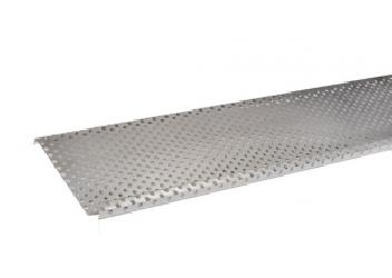 pare-feuille aluminium 1 mm pour Gouttière aluminium G300 2 mètres