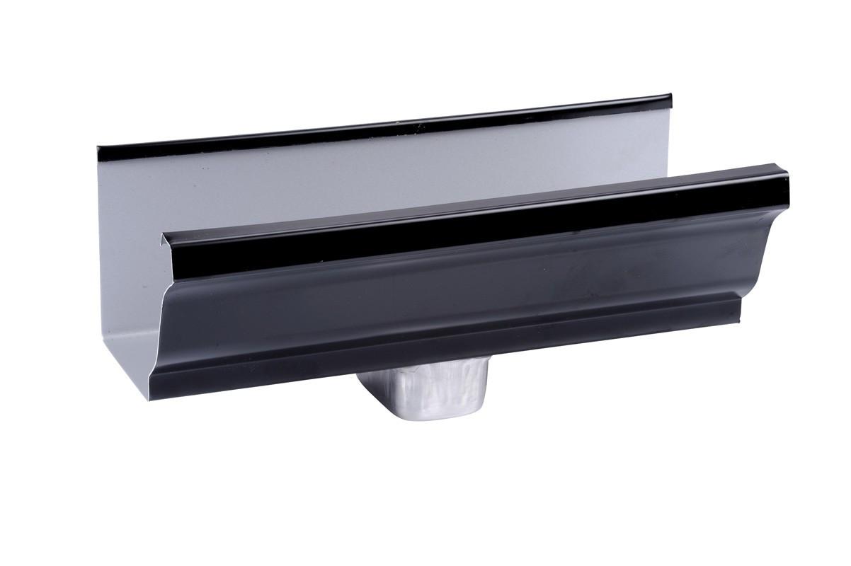 Naissance latérale aluminium noir