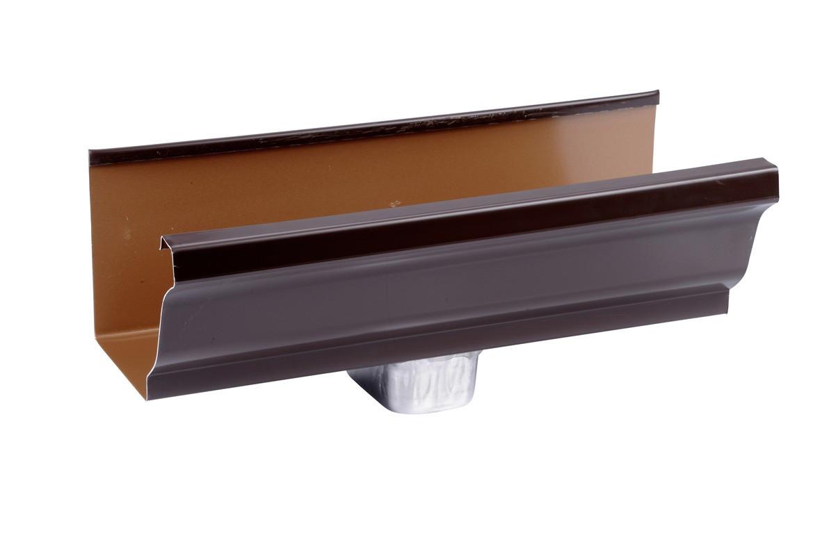 Naissance latérale aluminium marron