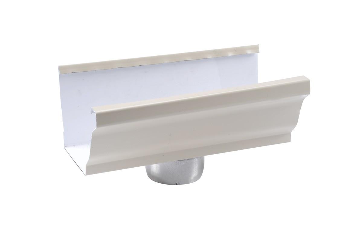 Naissance sortie cylindrique D80 aluminium sable