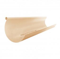 Gouttière demi-ronde PVC sable 16 - 2 mètres