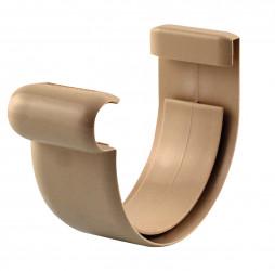 Jonction gouttière PVC sable à coller 16
