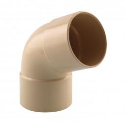 Coude 67° M/F PVC sable 60