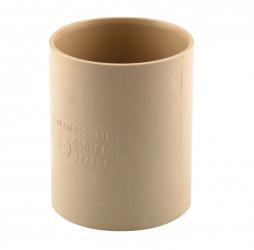 Manchon F/F PVC sable 60