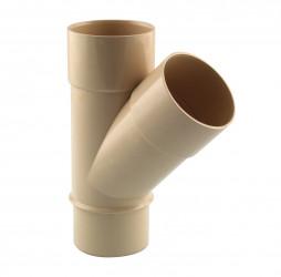 Culotte de branchement  45° M/F PVC sable 60