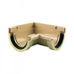 Angle intérieur 90 ° PVC sable à coller 16