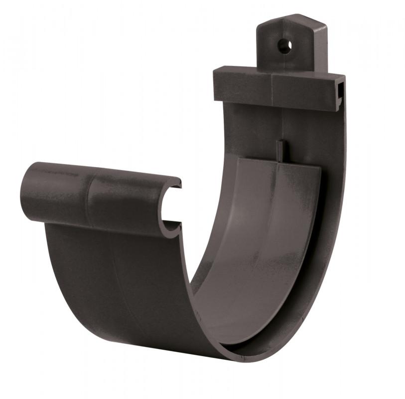 Jonction gouttière PVC graphite à coller 25