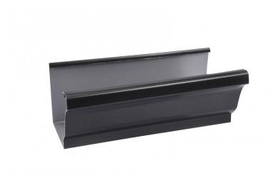 Naissance sortie cylindrique 70 aluminium noir sablé 2100