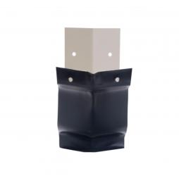 Angle extérieur 135° aluminium noir sablé 2100