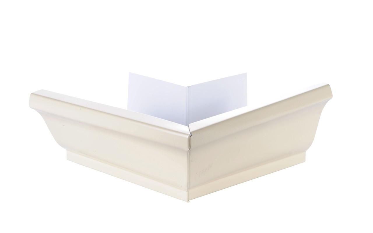 Angle extérieur gouttière 300 aluminium sable
