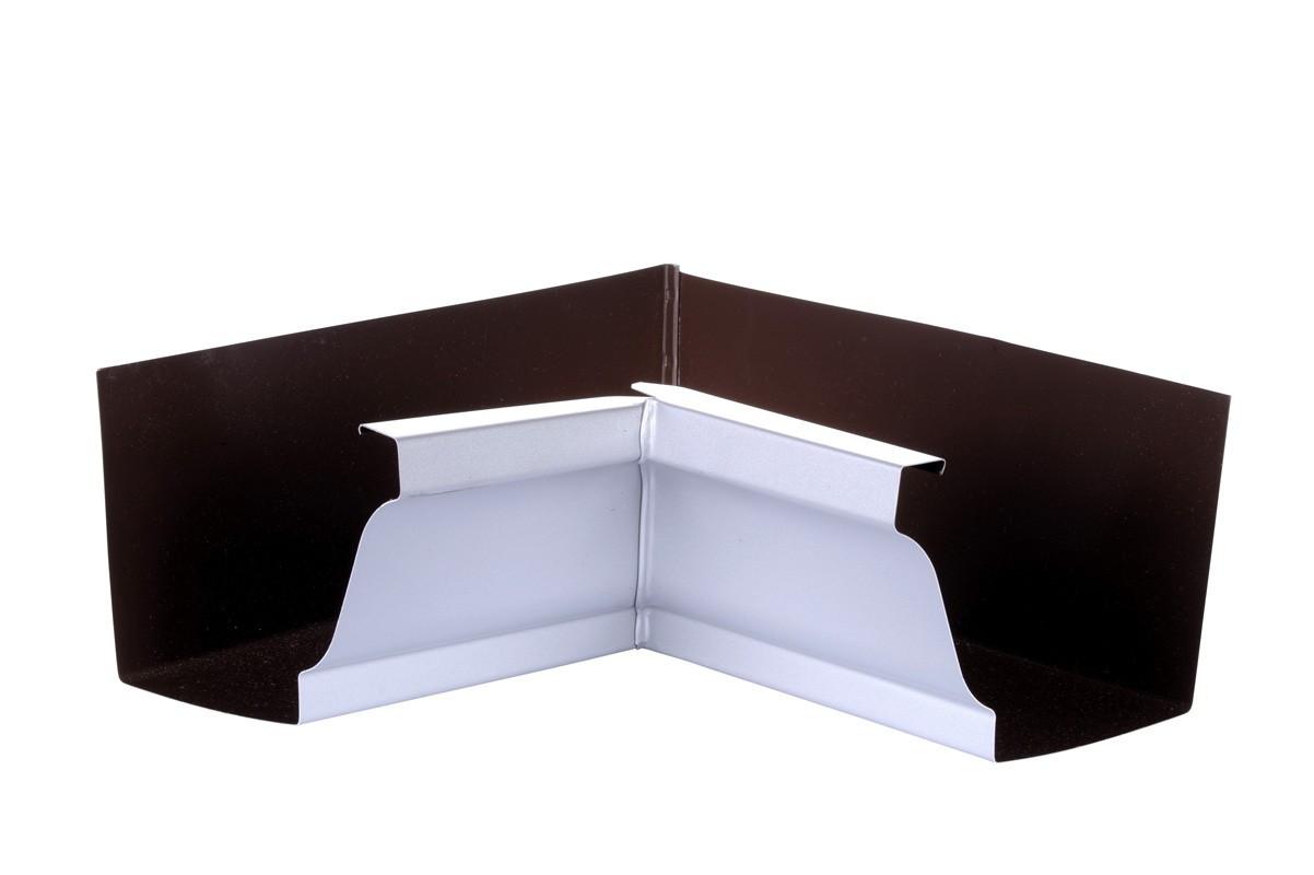 Angle intérieur gouttière 300 aluminium gris
