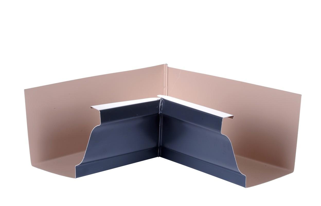 Angle intérieur gouttière 300 aluminium ardoise