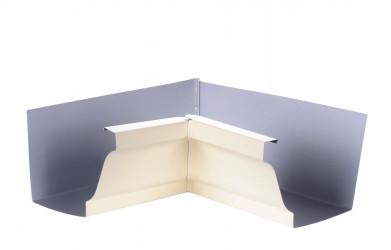 Angle intérieur gouttière 300 aluminium sable