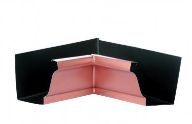 Angle intérieur gouttière 300 aluminium cuivre rosé