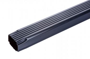 Dévoiement 60 X 80 X 500 aluminium ardoise