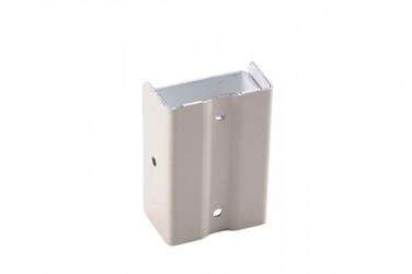 Fixation descente aluminium sable