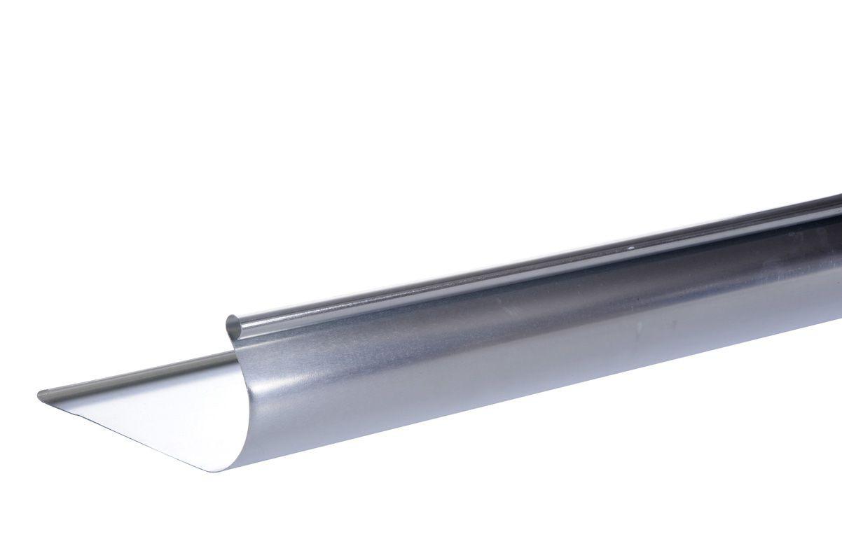 Gouttière havraise à pince 2M zinc