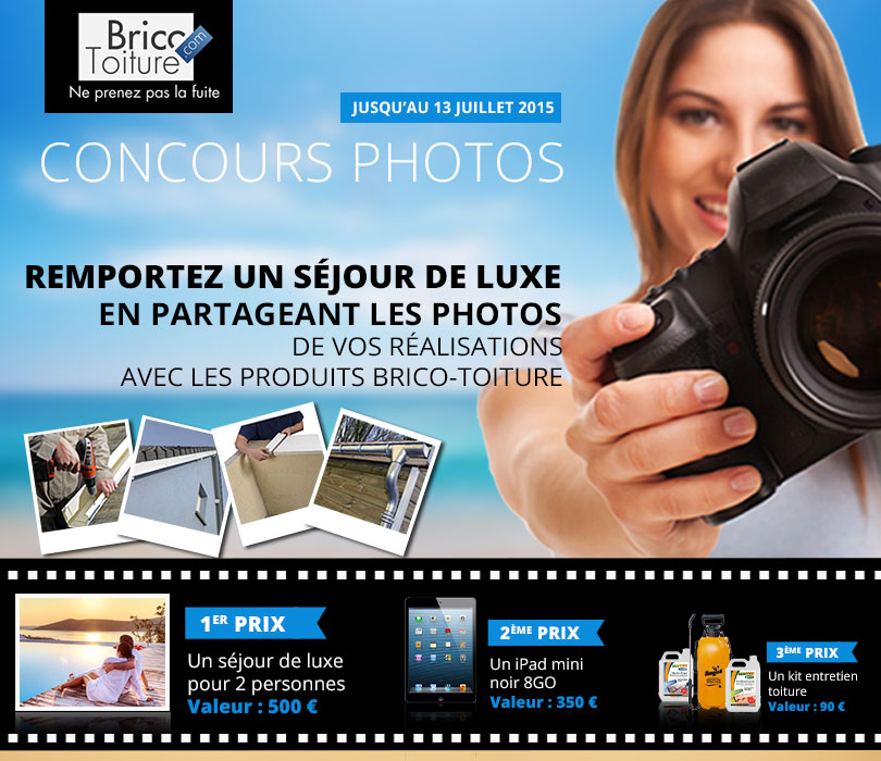 Concours photo Brico-Toiture